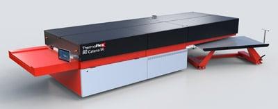 Catena-W verhindert ein Schrägstellen der Druckplatten während des Transports und verfügt über ein Druckplatten-Warteschleifenverfahren (Quelle: Flint Group)