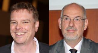 Manuel Heidbrink (l.) VskE-Vorsitzender und Klemens Ehrlitzer, VskE-Geschäftsführer (Quelle: Michael Scherhag)