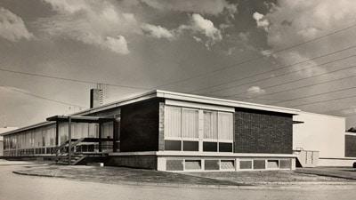 Ein Blick in alte Zeiten: Das Firmengebäude in der Sonnenbergstraße 1970 (Quelle: Seb. Wolf)