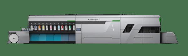 Die HP Indigo V12 Digital Press für den Etikettendruck ist die erste Maschine der Serie 6