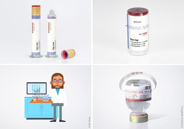 RFID-Labels von Schreiner MediPharm für Spritzen und Vials, kombiniert mit der Kit Check Tracking-Lösung, ermöglichen ein automatisiertes Medikamentenmanagement (Quelle: Schreiner Group)