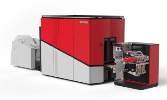Schneller, mehr Auflösung und modular ausbaubar – die neue CX300 von Xeikon (Quelle: Xeikon)