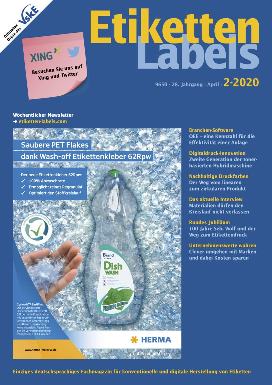 Produkt: Etiketten-Labels 02/2020 Digital