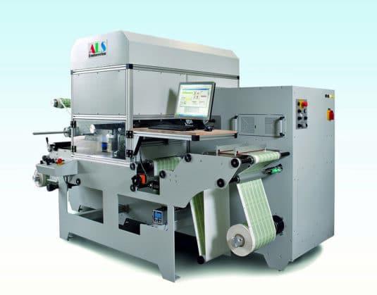 Die ALS-Laserstanze der Labelisten wird über einen Barcode gesteuert und stellt sich dann selbst ein (Quelle: ALS Engineering)