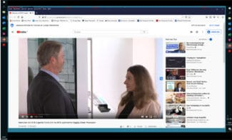Der RFID-Experte Frank Linti, Schreiner LogiData, erläutert im Interview die Herausforderungen der LKogistik und Möglichkeiten, durch RFID Supply-Chain-Prozesse zu optimieren (Quelle: Screenshot YouTube-Video)