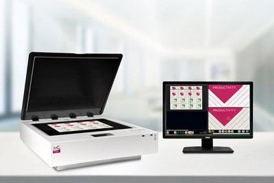 Die Einheit von Scanner und Proofsoftware ist über die intuitive Bedienung gut zu steuern (Quelle: EyeC)