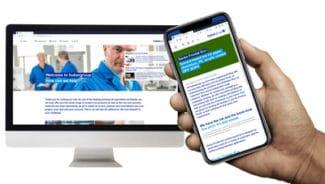 Mit der neuen Website will die hubergroup den Kunden näher und einfacher erreichbar sein (Quelle: hubergroup)