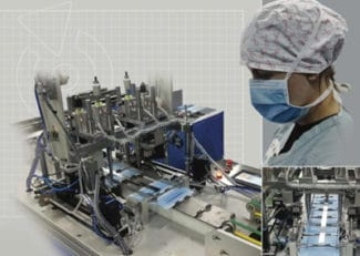 In zwei Versionen wird die Rotocontrol Ecoline für die Produktion von Schutzmasken angeboten (Quelle: Rotocontrol)