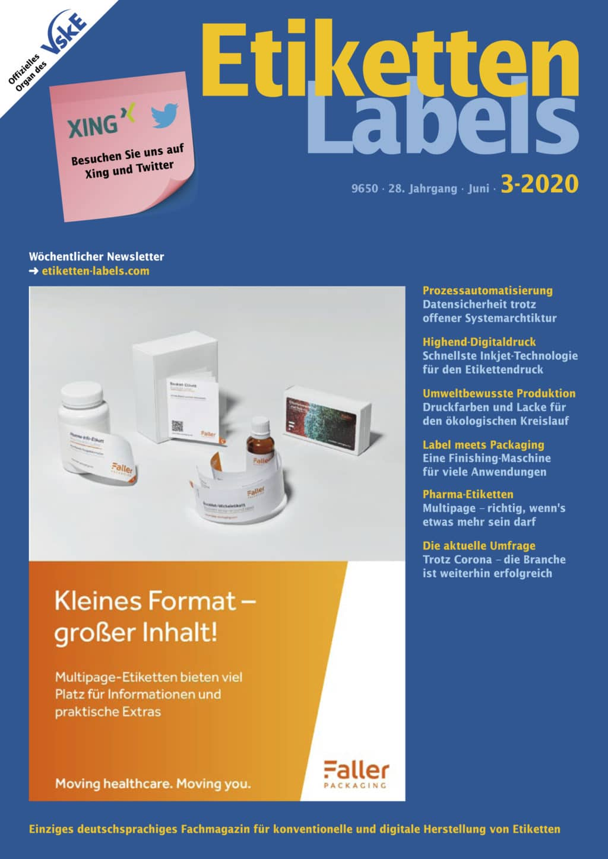 Produkt: Etiketten-Labels 03/2020