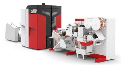 Die neue Xeikon 3030 mit GM-Fnishing eröffnet dem Unternehmen und seinen Kunden neue Möglichkeiten (Quelle: Xeikon)