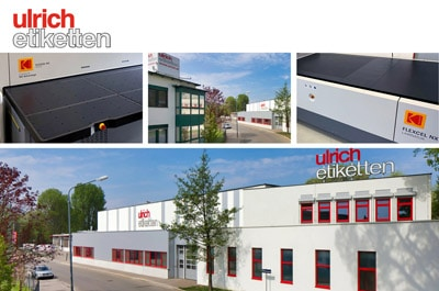 Ulrich Etiketten hat seine Flexodruckformherstellung mit einem Kodak Flexcel NX Mid System von Miraclon ausgebaut (Quelle: Miraclon)