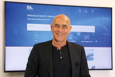 CEO Dr. Michael Proeller bei der Vorstellung des E+L-Webshops (Quelle: E+L)