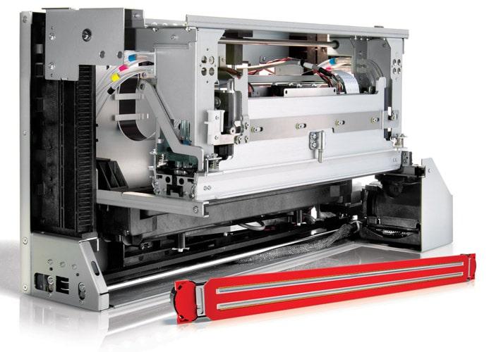 Die modularen Druckköpfe für die Duraflex-Technologie sind einfach zu integrieren (Quelle: Memjet)