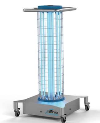Mit Steriair von Dr. Hönle steht ein kompaktes Gerät zur Entkeimung zur Verfügung (Quelle: Dr. Hönle)