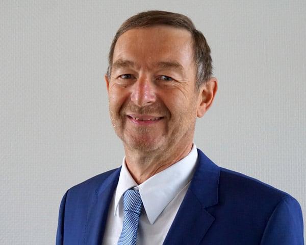 Thomas Hagmaier, Inhaber der Hagmaier Etiketten & Druck, Münsingen