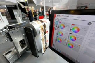 Durch die Kooperation mit ColorWare wurde die Möglichkeit geschaffen, in der Druckvorstufe alle erforderlichen Daten für die inline Spektralfarbmessung mit iPQ-Spectral von BST eltromat vorzubereiten (Quelle: BST eltromat)