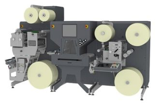 Der neue Laser-Finisher LC350 von GM wurde als kompaktes und vielseitiges System konzipiert (Quelle: GM)