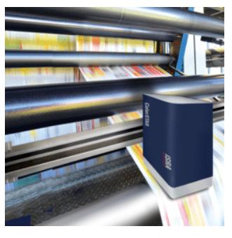 Das Farbmessungsmodul Colorstar des Printstar Inspektionssystems von Isra Vision, ermöglicht die absolute Farbmessung während des Druckprozesses (Quelle: Isra Vision)