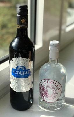 Hochwertige Getränke, hochwertige Etiketten. Mit EcoLeaf lässt sich das digital produzieren (Quelle: Actega)