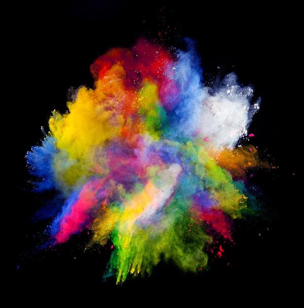 Speziell für eine bessere Kompostierungsfähigkeit hat BASF mit Colors&Effects eine nachhaltige Farbserie entwickelt (Quelle: BASF)