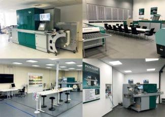 Blick in die Räumlichkeiten der neuen Dantex-Technologiezentren (Quelle: Dan-tex)