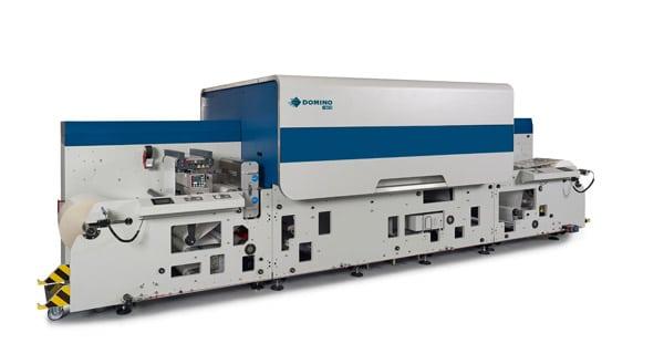 Mit der N730i präsentierte Domino die neueste digitale Etikettendruckmaschine und begründete damit die Generation 7 (Quelle: Domino)