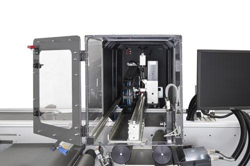 Das Druckmodul der PS-250 RFID Personalisierungsmaschine (Quelle: F+V)