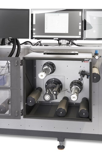 Mit dem Schlechtteilentfernungsmodul werden fehlerhafte Etiketten werden sofort ausgeschleust und aus dem Herstellungsprozess entfernt (Quelle: F+V)