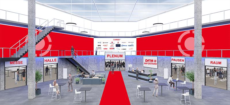 ProFlex 360°: Das virtuelle Foyer (Quelle: DFTA)