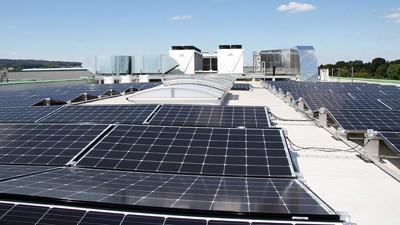 Die optimierte Energieeffizienz und die Nutzung von erneuerbaren Energien sorgt für nachhaltigen Umwelt und Klimaschutz (Quelle: Spilker)