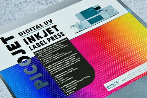 Die Colour-Pinning-Technologie von Dantex sorgt für schärfere Inkjet-Punkte und höhere Druckqualität (Quelle: Dantex)