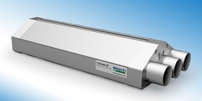 Meech CyClean-R ermöglicht die Reinigung von Bahnen auch mit niedriger Bahnspannung (Quelle: Meech)
