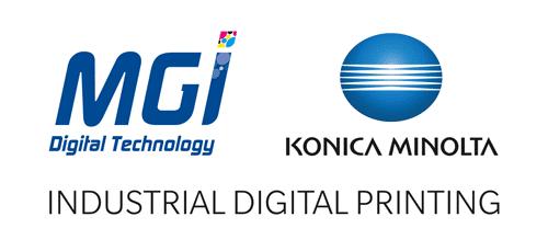 Logos MGI Konica Minolta