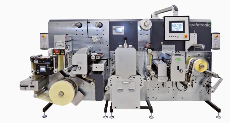 Die neue CF2 von Grafotronic erweitert die Produktionsmöglichkeiten von Thiekötter Druck (Quelle: Graficon)