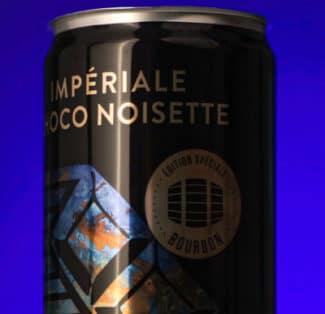 Fast Track Packaging erhielt die Auszeichnung für wärmeschrumpfende TD-Sleeves auf Dosen mit Impériale Choco Noisette Stout (Quelle: AWA)