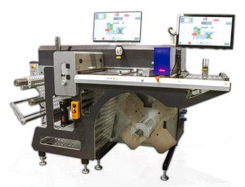 Die Grafotronic HI3 produziert seit Beginn des Jahres und unterstützt Labelprint24 bei der Herstellung von Etikettenrollen (Quelle: Graficon)