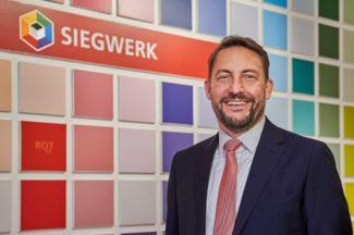 Dr. Nicolas Wiedmann wird zum 1. April 2021 neuer Chief Executive Officer von Siegwerk (Quelle: Siegwerk)