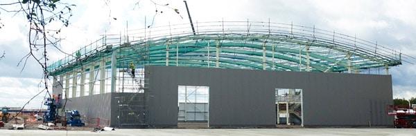 Der Meech-Erweiterungsbau soll vorwiegend der Expansion des Bereiches Forschung & Entwicklung dienen (Quelle: Meech)