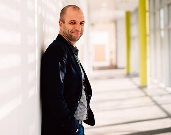 Danny Mertens, Corporate Communications Manager Digital Solutions bei Xeikon
