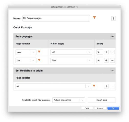 """Mit der """"QuickFix""""-Engine können auch umfangreiche PDFs sehr schnell modifiziert werden (Quelle: Callas)"""