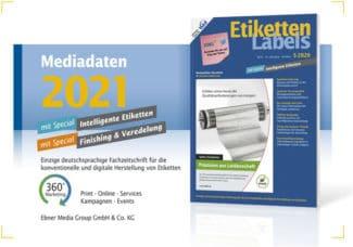Titelseite Mediadaten Etiketten-Labels