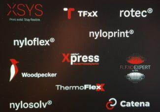 In den neuen Geschäftsbereich XSYS wurden alle Produkte und Marken der Flint Group aufgenommen, die nahezu den gesamten Druckvorstufenbereich des Flexodrucks abdecken (Quelle: Flint Group)