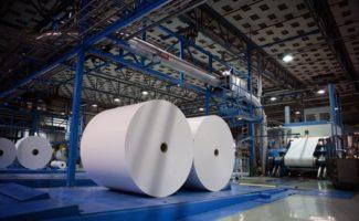Herstellung von Primärfaserkarton in der Fabrik in Iggesund (Quelle: Iggesund)
