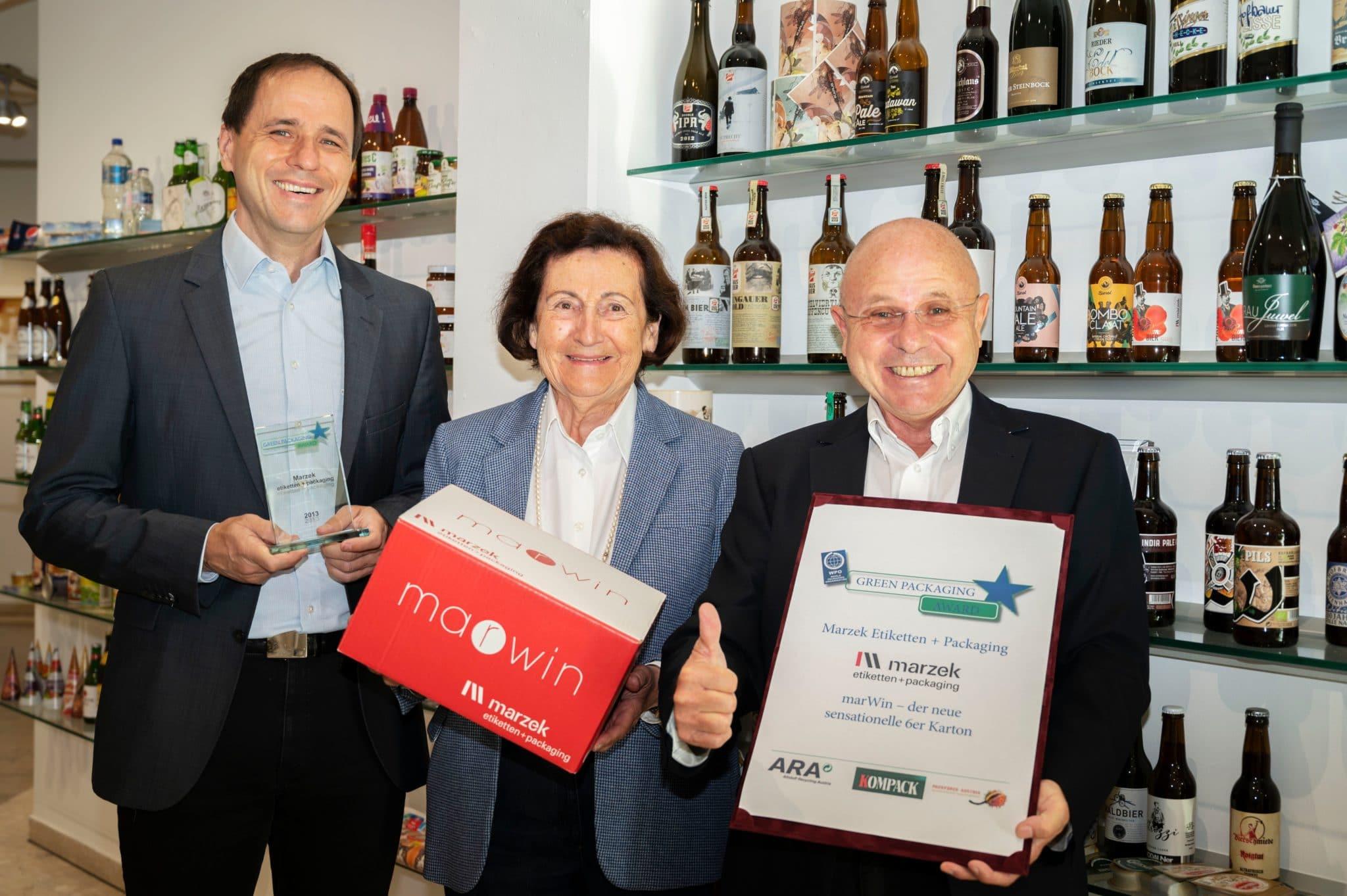 Alles in allem war 2020 ein sehr positives Jahr für Marzek Etiketten+Packaging. Viele Auszeichnungen und eine gute Geschäftsentwicklung sprechen für sich (Quelle: Marzek Etiketten+Packaging)