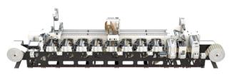 Die Evolution Serie E3 ist in den Bahnbreiten 13 und 17 Zoll (330 und 430 mm) mit Produktionsgeschwindigkeiten von bis zu 150 m/min ab sofort erhältlich (Quelle: Mark Andy)