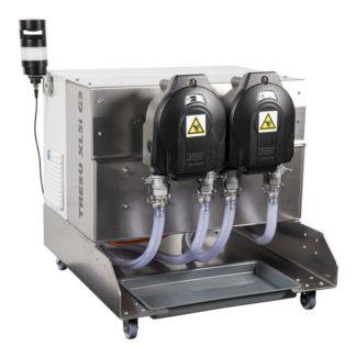 Der XL5i G3 ist eine Lösung für spezielle und empfindliche UV- oder wässrige Lacke und kann als Standalone-Produkt betrieben oder inline in eine bestehende Druckmaschine mit voller Software-Integration integriert werden (Quelle: Tresu)
