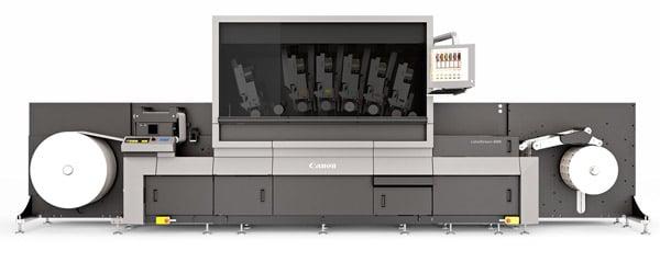 Die Canon Labelstream 4000 ist jetzt Pantone-zertifiziert (Quelle: Canon)