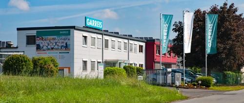 Die Garreis Unternehmenszentrale in Geisenheim-Marienthal (Quelle: Garreis)
