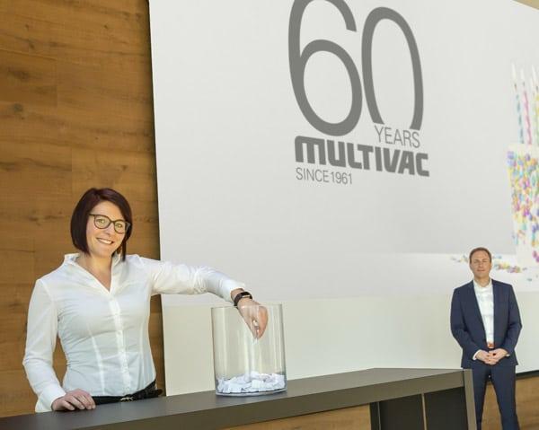 Ziehung der Gewinner im modernen Innovation Center von Multivac in Wolfertschwenden (Quelle: Multivac)