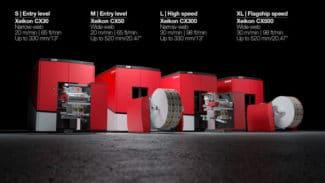 Die beiden neuen Tonerdruckmaschinen CX30 und CX50 von Xeikon stellen Einstiegsmodelle oder Kapazitätserweiterungen für das Digitaldruckgeschäft dar (Quelle: Xeikon)